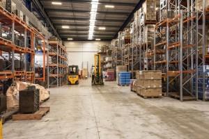 65 Hugo Johnston Drive warehouse interior