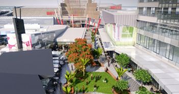 An artist's impression of the $80 million office building to be constructed at Sylvia Park Shopping Centre