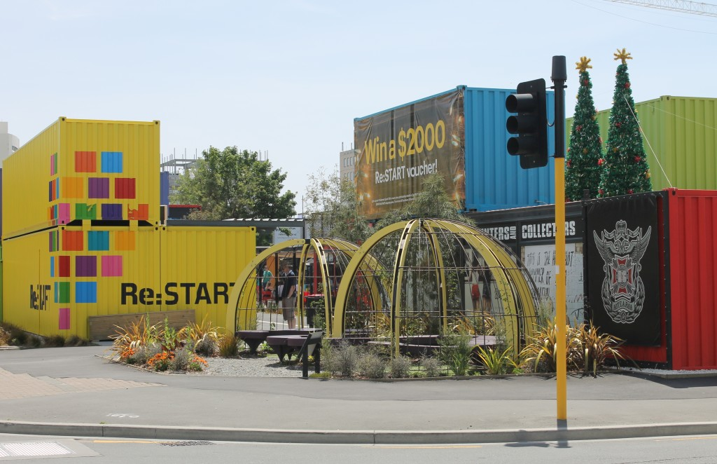 The Re:START mall helped revive Christchurch's CBD after the 2011 earthquake