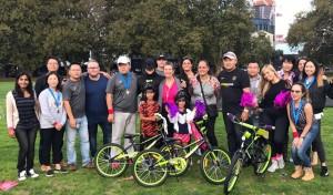 Group Shot Build at Bike