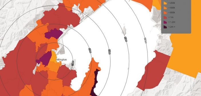 New Zealand's property market mapped: see value changes in your suburb
