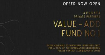 Fund will sell properties within five years after adding value.