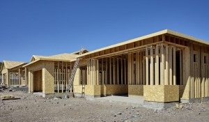 56975936 - new housing project in progress construction building industry concept rows