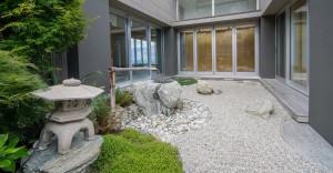 The award-winningLakeside Estate 'Japanese infused' property