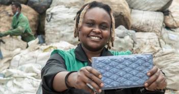 Solving the plastic crisis brick by brick